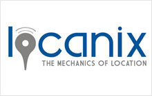 locanix logo & stationary design
