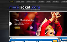 online ticket buying portal design & development